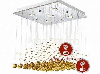 Kristalli tavan avize modelleri
