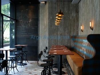 Cafe restoran aydınlatma örnekleri