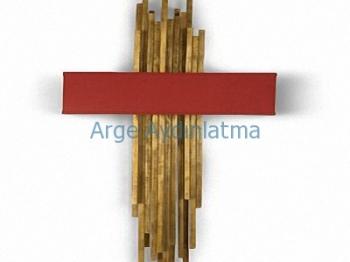 Dekoratif Metal Çubuk Aplik Arg-50313