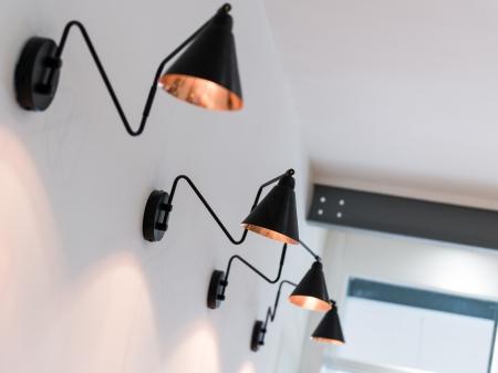 Vintage cafe retoran duvar aydınlatma aplik imalatı