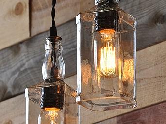 Cafe Bar şişe aydınlatma sarkıt dekoratif lamba imalatı arg1116-929