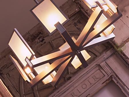 Cafe restoran aydınlatma modelleri krom eskitme-ARG-8717-5
